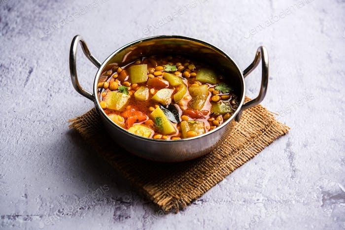 Flasche Kürbis Gramm Curry