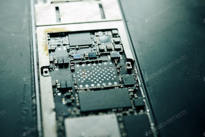 Peace of motherboard