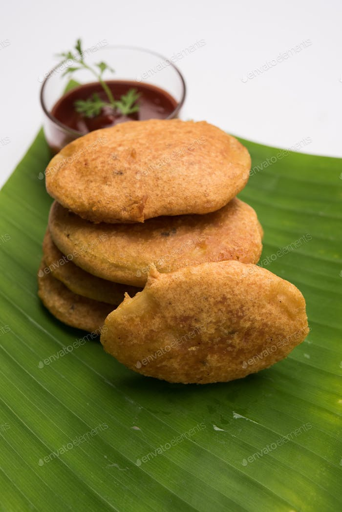 Potato Fritter or Aloo Pakora