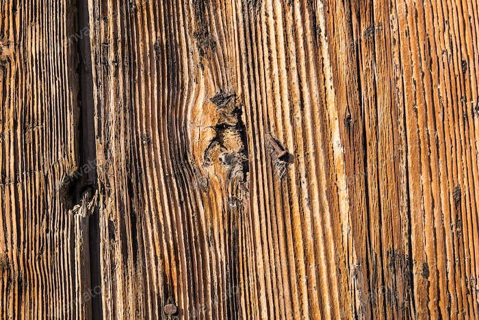 closeup of old wood texture