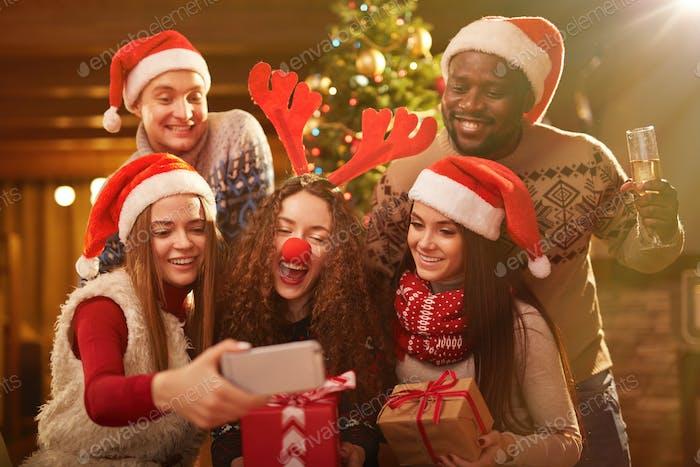 Selfie on Christmas