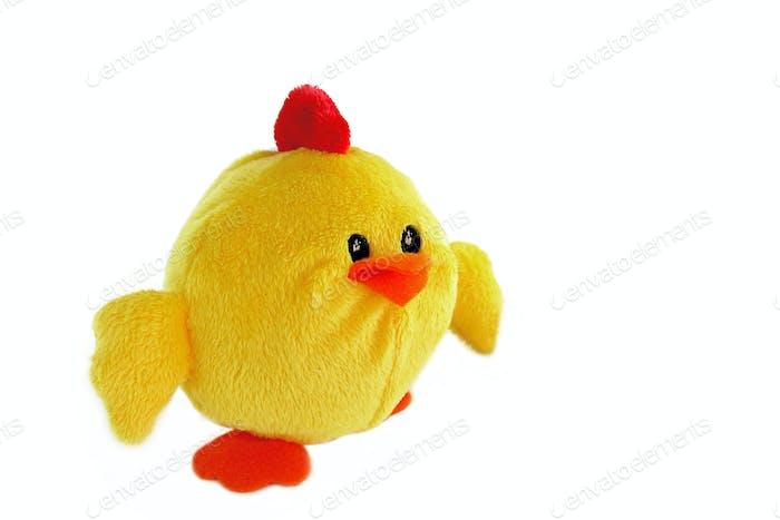 Chicken shaped bath sponge
