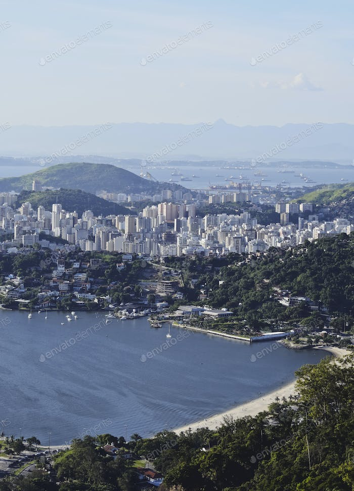 View from Parque da Cidade in Niteroi