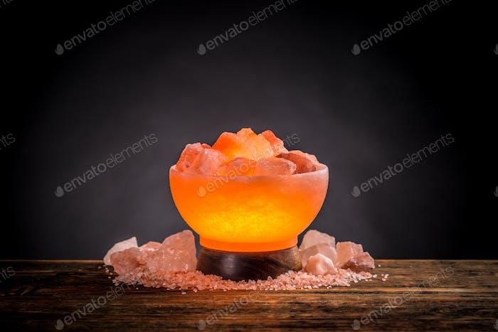 Thumbnail for Himalayan pink salt lamp