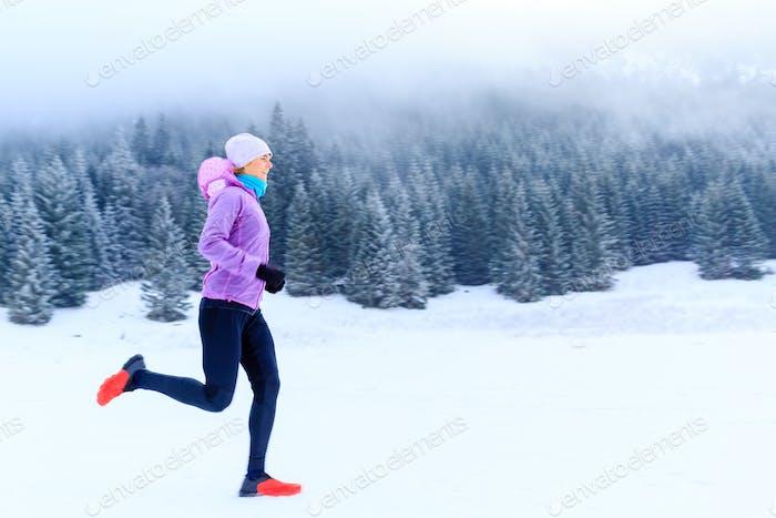 Mujer fitness Inspiración y motivación, corredor