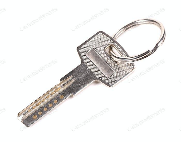 one silver key