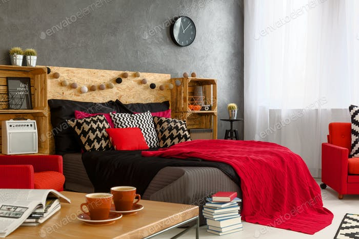 Female bedroom design