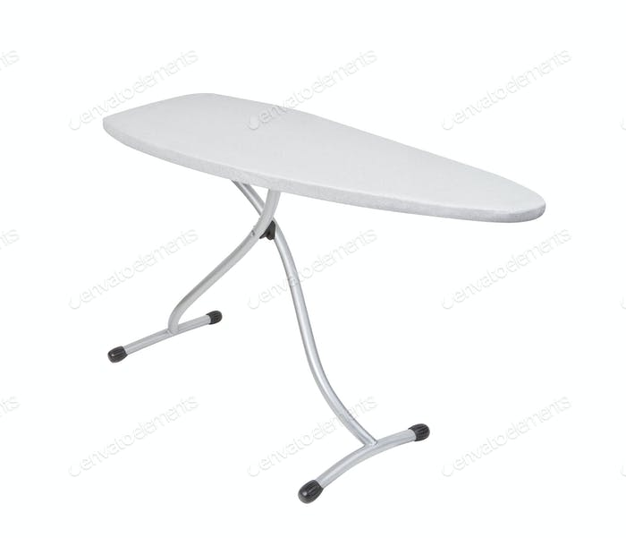 ironing board isolated on white background