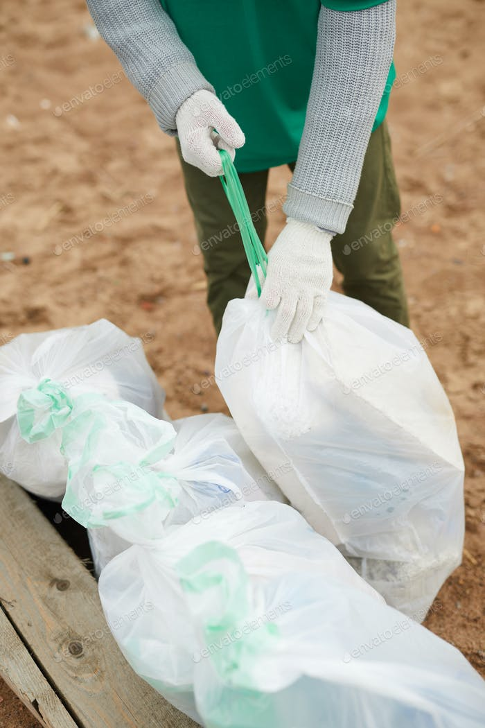 Preparing litter for utilization