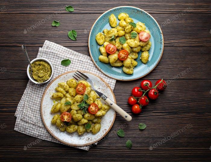 Italian traditional gnocchi