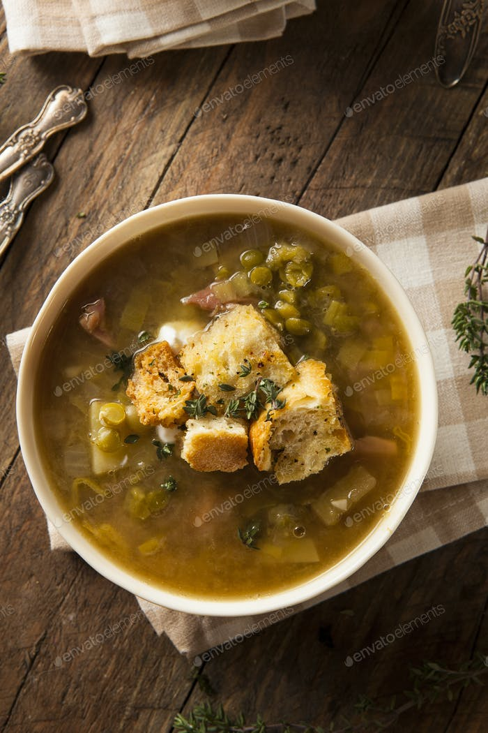 Homemade Split Pea Soup