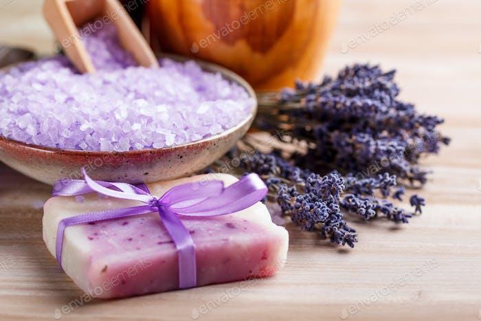 Getrocknete Lavendel
