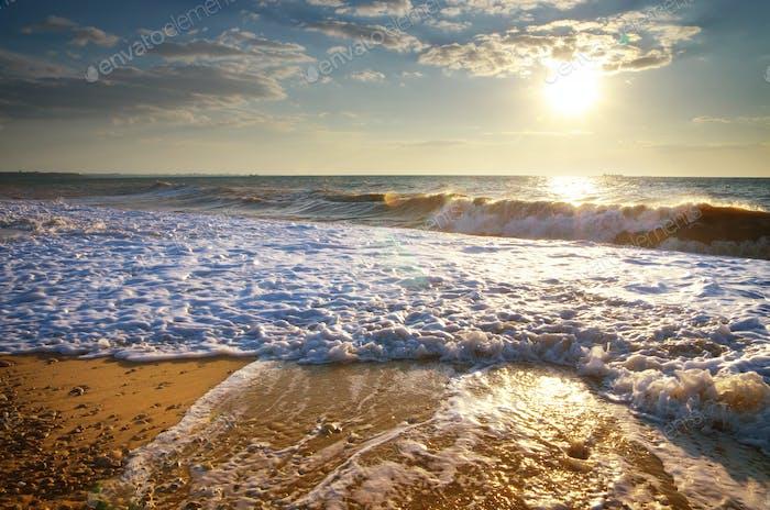 Hermoso paisaje marino