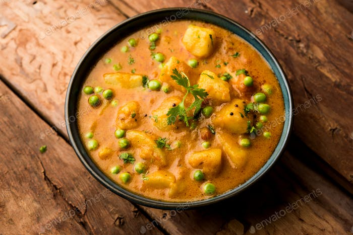 Aloo Mutter Curry