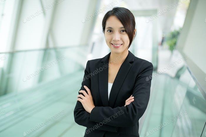Schöne Geschäftsfrau