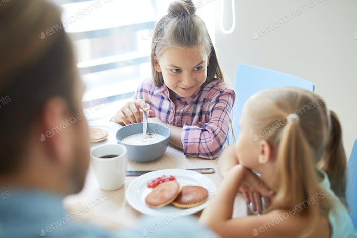 Sisters by breakfast