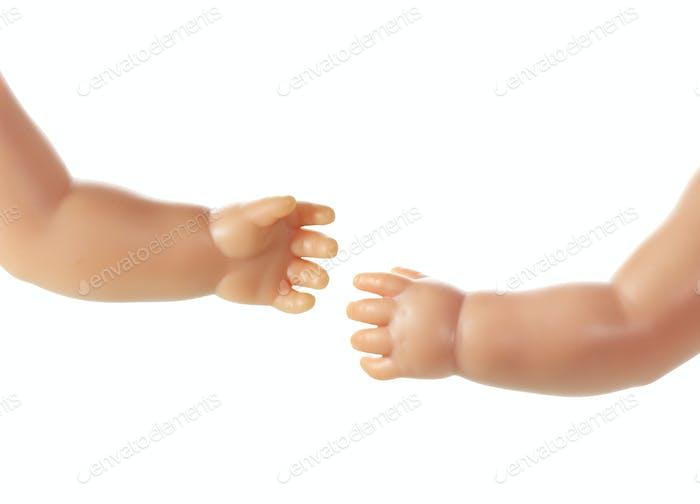 Puppenhände