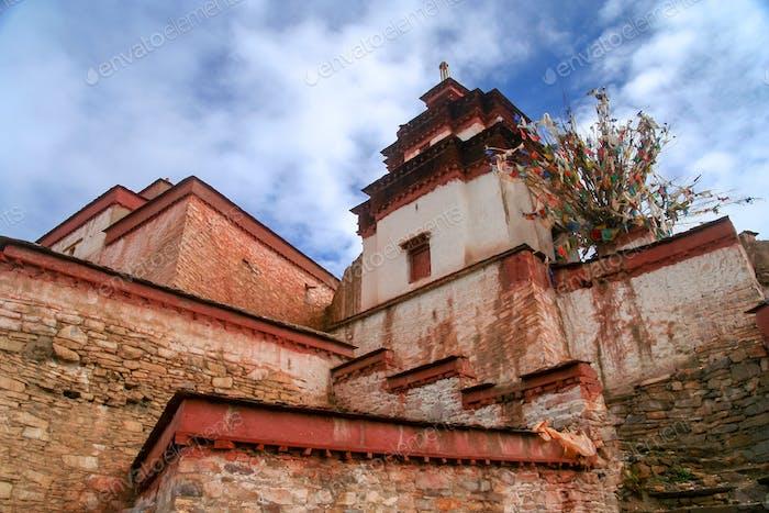 Tibetan Castle in Gyangze