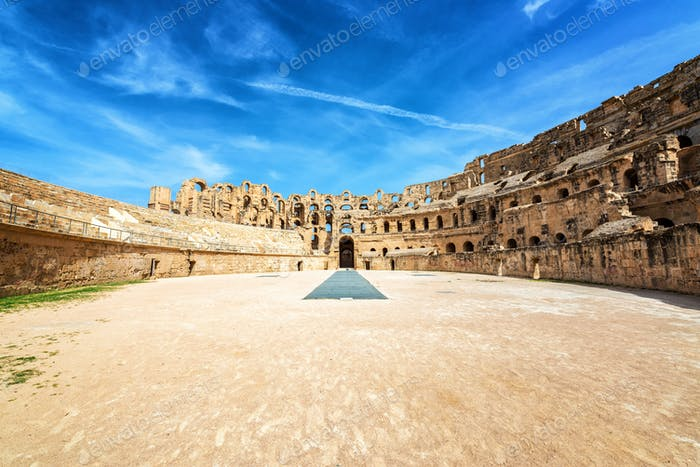 Amphitheater of El Jem