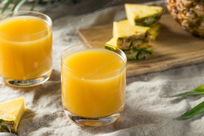 Raw Orange Pineapple Juice