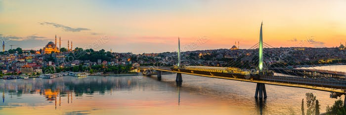 Golden Horn and bridge