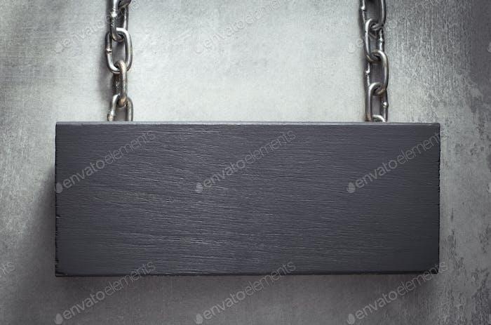 Cartel colgante