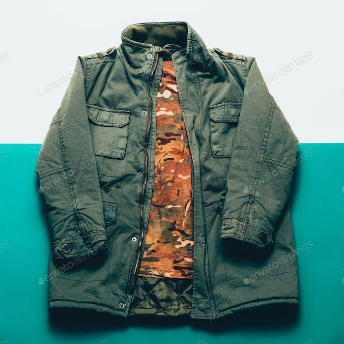 Clothing Set Military style minimalist fashion