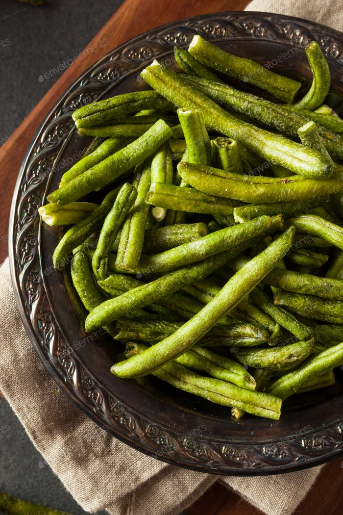Healthy Nutritious Dehydrated Green Bean Chips