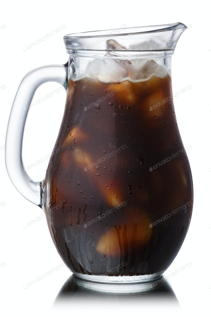 Iced cold brew coffee, paths