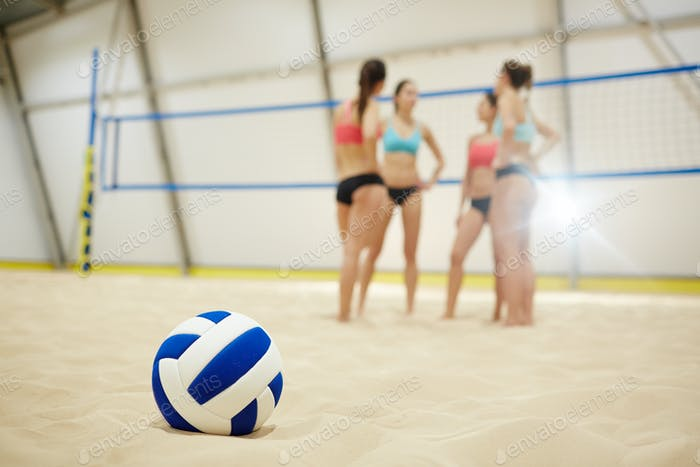 Symbol of volleyball