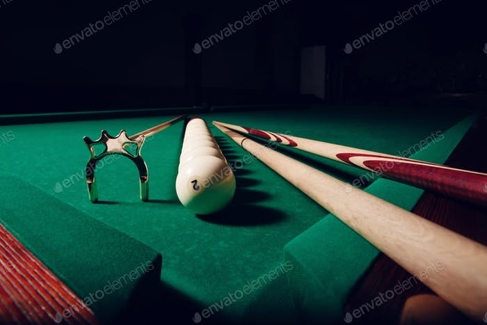 Billiard equipment