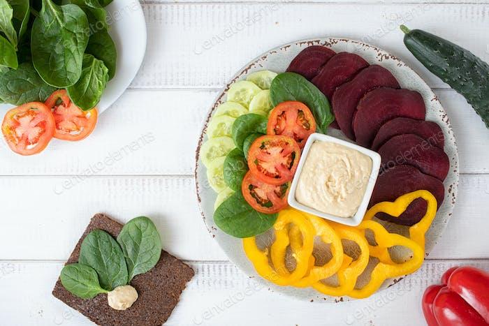 Vegane Lebensmittel
