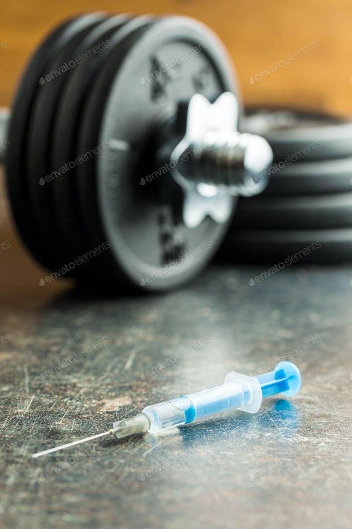 Doping in sport.