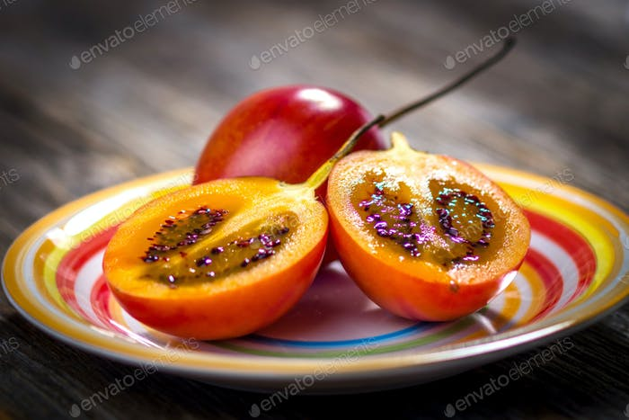 Fresh fruit tamarillo