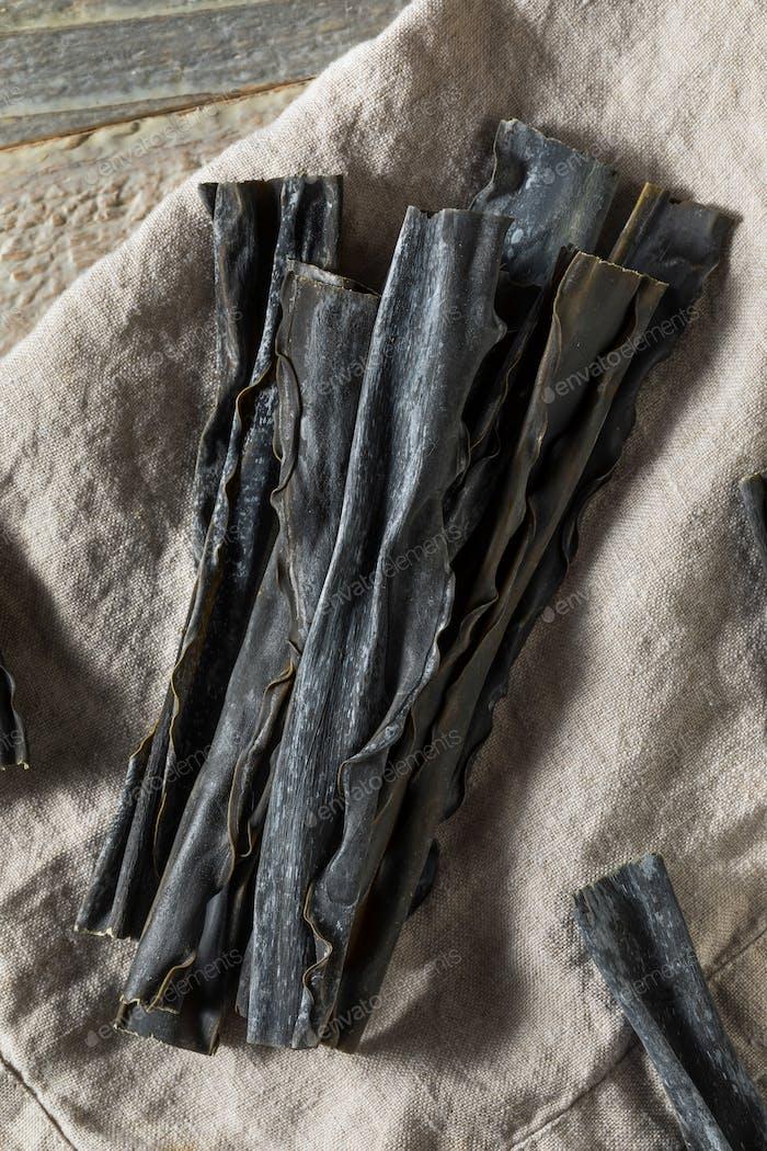Dried Organic Japanese Kombu Seaweed
