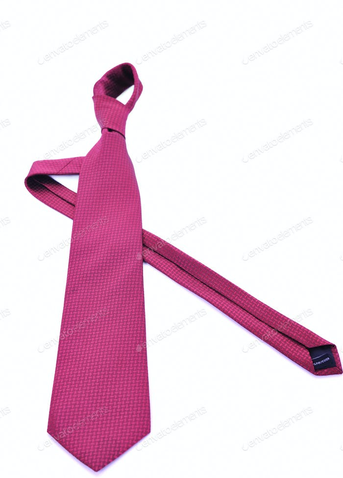 necktie isolated