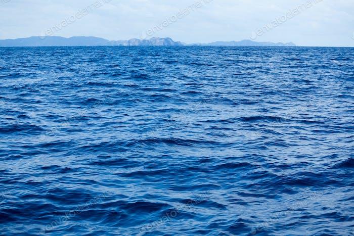 Sky and seascape