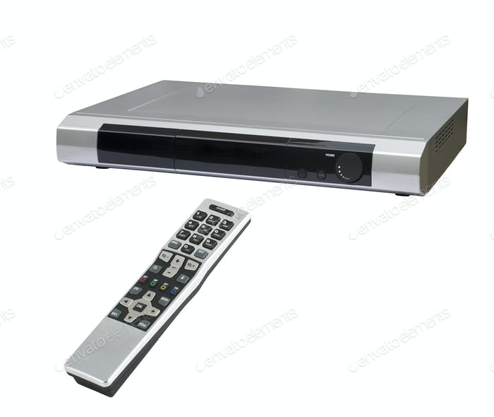 DVD-Player mit Bedienfeld