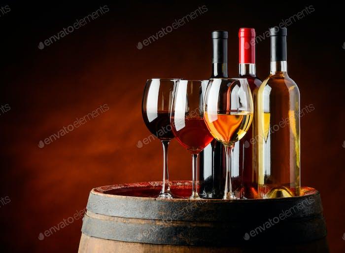 Wein im Weinkeller
