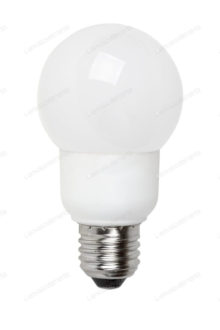 Ball-shaped fluorescent lamp
