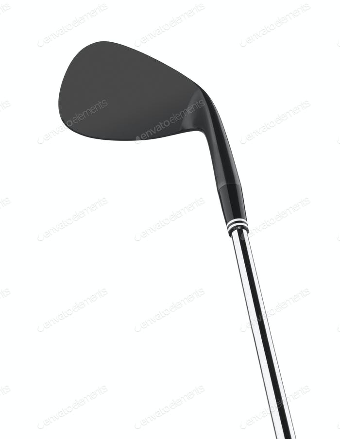 Golf club isolated