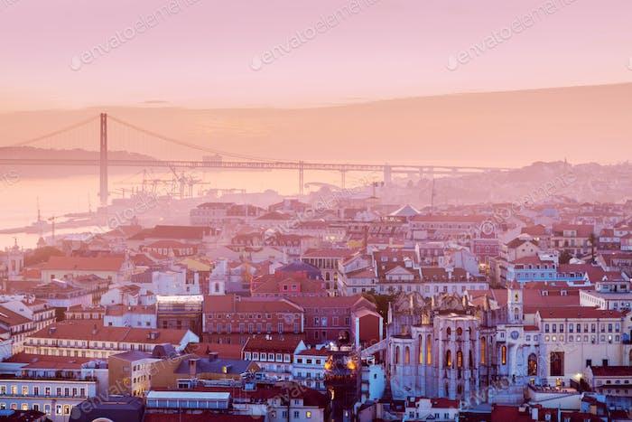 25th of April Bridge in Lisbon