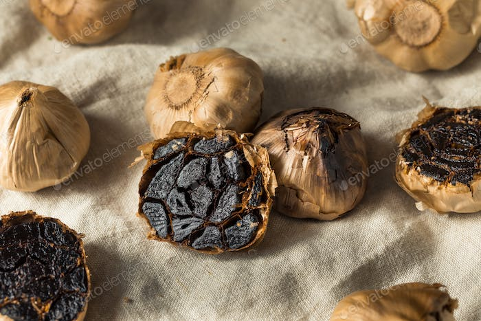 Organic Fermented Black Garlic