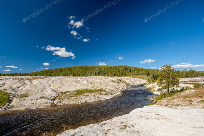 Firehole River, Yellowstone National Park, Wyoming