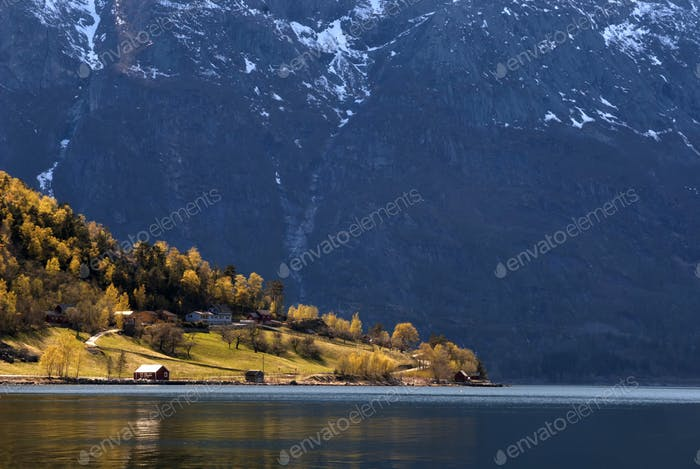 Simadalsfjorden near Eidfjord