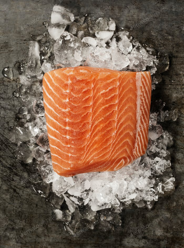 Thumbnail for Salmon Fillet on Ice