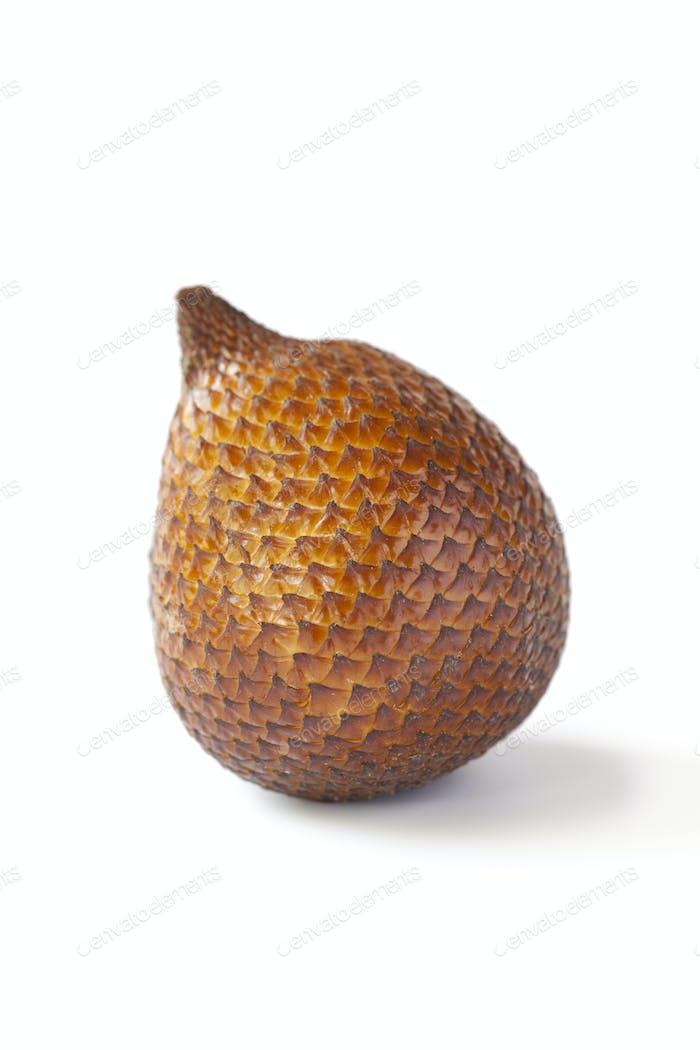 Single whole organic snakefruit