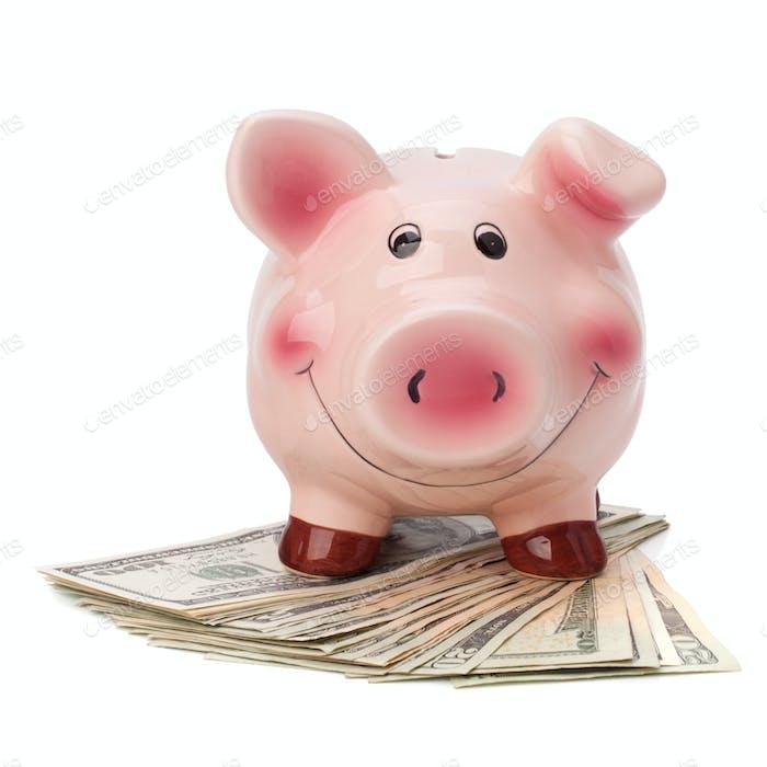 Konzept der Geldakkumulation