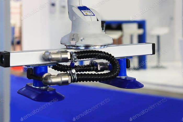 Vakuumsaugung eines Industrieroboters