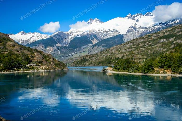 Stunning Patagonian landscape